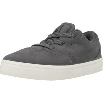 Chaussures Garçon Baskets basses Nike SB CHECK SUEDE Gris