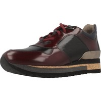 Chaussures Femme Baskets basses Angel Infantes 570A Rouge