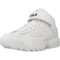 Chaussures Femme Baskets montantes Fila D2 DISRUPTOR MID Blanc