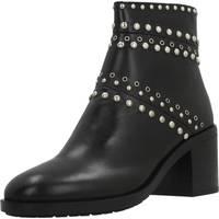 Chaussures Femme Boots Elvio Zanon I6301N Noir