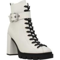 Chaussures Femme Bottines Elvio Zanon I7503N Blanc