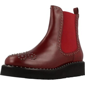 Chaussures Femme Boots Pon´s Quintana 7154 R04 Rouge