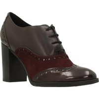 Chaussures Femme Low boots Geox D HERIETE HIGH Rouge