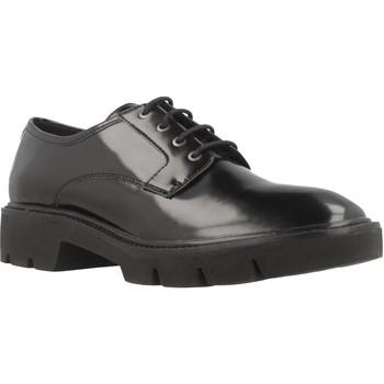 Chaussures Femme Derbies Geox D QUINLYNN Noir
