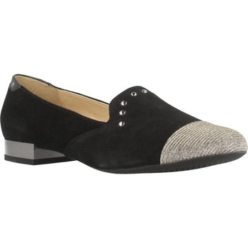 Chaussures Femme Ballerines / babies Geox D WISTREY Noir