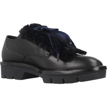 Chaussures Femme Derbies Geox D QUINLYNN PLUS Bleu