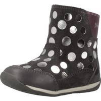 Chaussures Fille Bottes ville Geox B EACH GIRL Gris