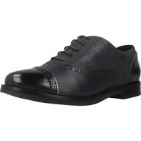 Chaussures Femme Derbies Geox D PROMETHEA Bleu