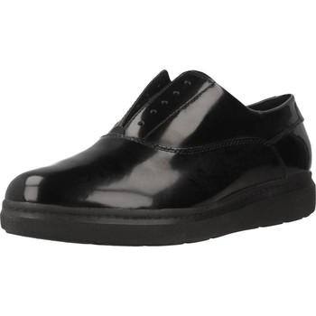 Chaussures Femme Derbies Geox D JERRICA Noir