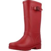 Chaussures Garçon Bottes de pluie Igor W10115 Rouge