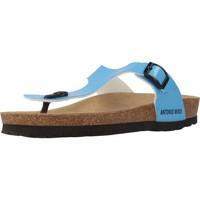 Chaussures Femme Tongs Antonio Miro 316602 Bleu