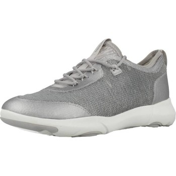 Chaussures Femme Baskets basses Geox D NEBULA X Argent