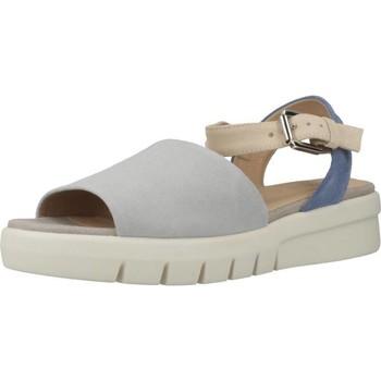 Chaussures Femme Sandales et Nu-pieds Geox D WIMBLEY SANDAL Bleu