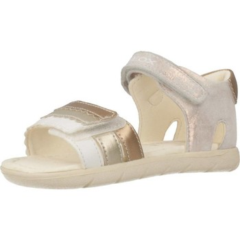 Chaussures Fille Sandales et Nu-pieds Geox B SANDAL ALUL GIRL Gris