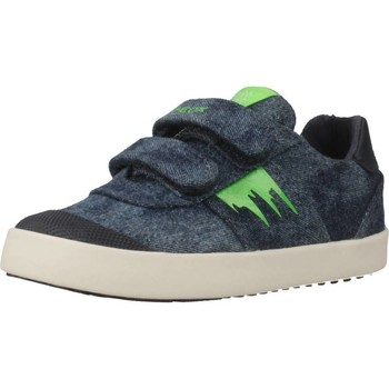 Chaussures Garçon Baskets basses Geox B KILWI BOY Bleu