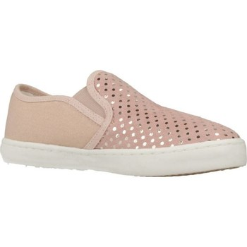 Chaussures Fille Slip ons Geox J KILWI G.D Rose