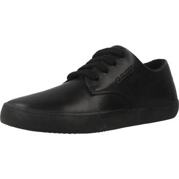 Chaussures Garçon Baskets basses Geox J KILWI B. G Noir