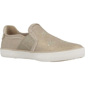 Chaussures Fille Slip ons Geox J KILWI E Brun