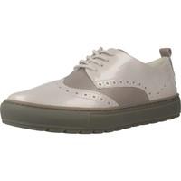 Chaussures Femme Derbies Geox D BREEDA B Gris