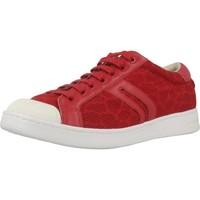 Chaussures Femme Baskets basses Geox D JAYSEN Rouge