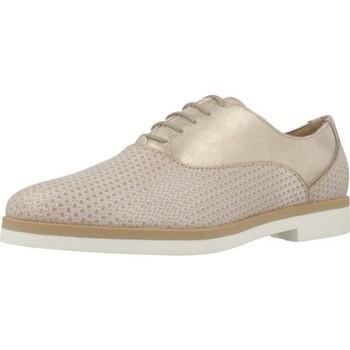 Chaussures Femme Derbies Geox D JANALEE A Brun
