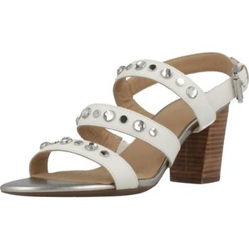 Chaussures Femme Sandales et Nu-pieds Geox D EUDORA H Blanc