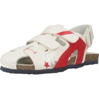 Chaussures Garçon Sandales sport Chicco HELIX Blanc