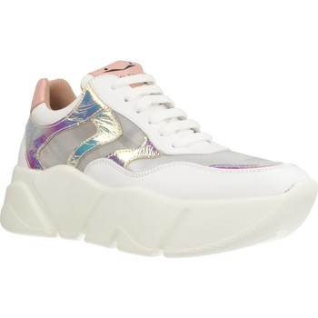 Chaussures Femme Baskets basses Voile Blanche MONSTER MESH Blanc