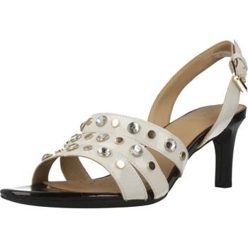 Chaussures Femme Sandales et Nu-pieds Geox D CELEINA Blanc