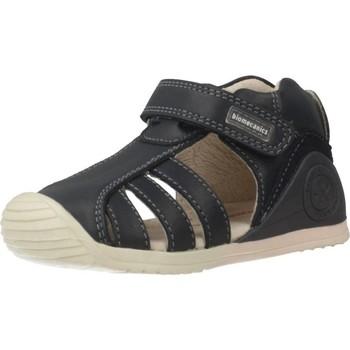 Chaussures Fille Sandales sport Biomecanics 192125 Bleu