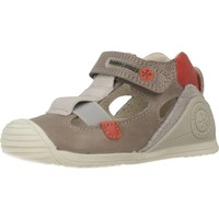 Chaussures Garçon Sandales sport Biomecanics 192128 Gris