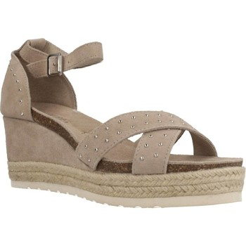 Chaussures Femme Espadrilles Carmela 66689C Brun
