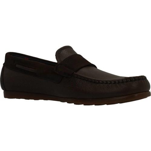 Chaussures Homme Mocassins CallagHan 15202C MOCASIN Marron