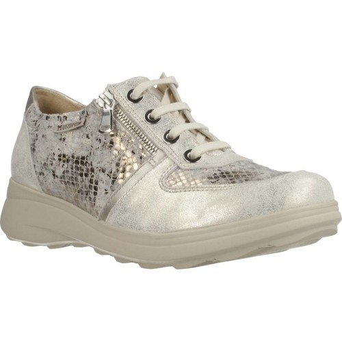 Chaussures Femme Baskets basses Mephisto JILL PIPA D´or