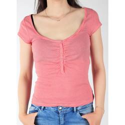 Vêtements Femme T-shirts manches courtes Lee L428CGXX czerwony, biały