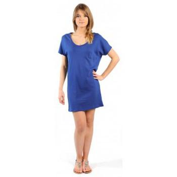 Vêtements Femme Robes courtes American Vintage ROBE CI88E11 INDIGO Bleu