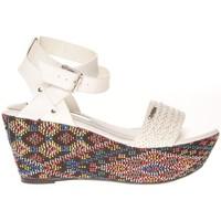 Chaussures Femme Sandales et Nu-pieds Cassis Côte D'azur Sandales Amalia Blanc Blanc