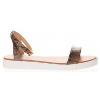 Chaussures Femme Sandales et Nu-pieds Cassis Côte D'azur Sandales Gasteria Camel Marron
