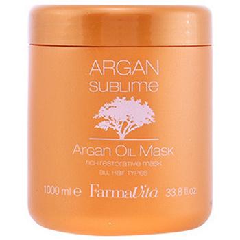 Beauté Soins & Après-shampooing Farmavita Argan Sublime Mask  1000 ml