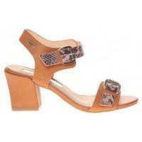 Chaussures Femme Sandales et Nu-pieds Cassis Côte D'azur Sandales Avril Camel Marron