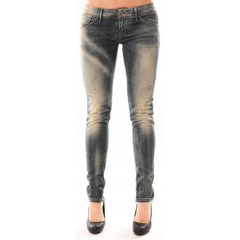 Vêtements Femme Jeans slim Meltin'pot Jean D1480/BD398 Bleu délavé Bleu