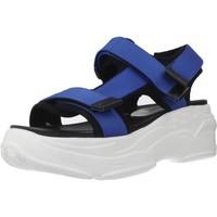 Chaussures Femme Sandales et Nu-pieds Movie's F11 01 Bleu