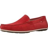 Chaussures Homme Mocassins Fluchos F0424 Rouge