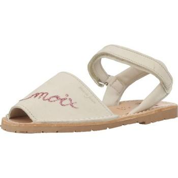 Chaussures Fille Sandales et Nu-pieds Ria 20090 Beige
