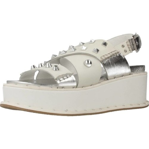 Chaussures Femme Sandales et Nu-pieds Apepazza CHR03 Blanc