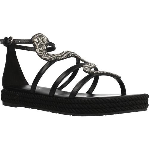Chaussures Femme Sandales et Nu-pieds Apepazza VTN01 Noir