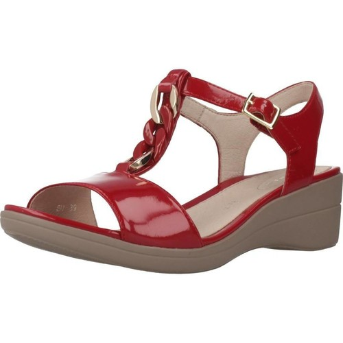 Chaussures Femme Sandales et Nu-pieds Stonefly 110218 Rouge