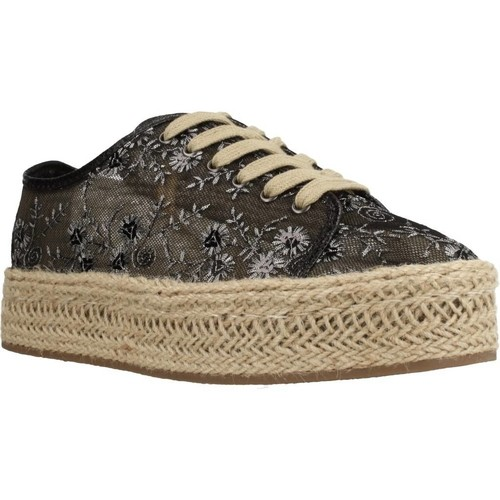 Chaussures Femme Espadrilles She Sport 64 7602 Noir