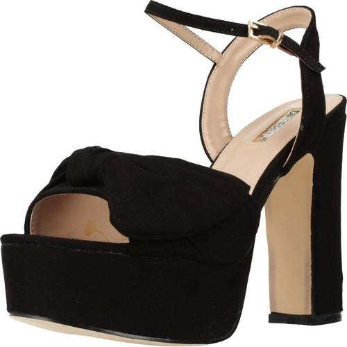Chaussures Femme Sandales et Nu-pieds Different 64 8504 Noir