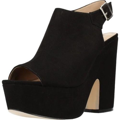 Chaussures Femme Sandales et Nu-pieds Different 64 8513 Noir